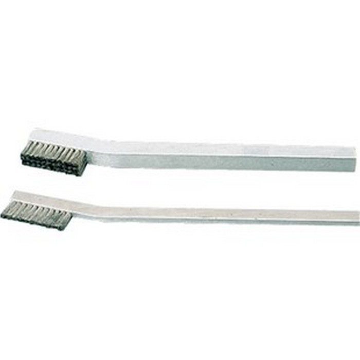 1 x 11 Row Stainless Steel Bristle and Aluminum Handle Scratch Brush
