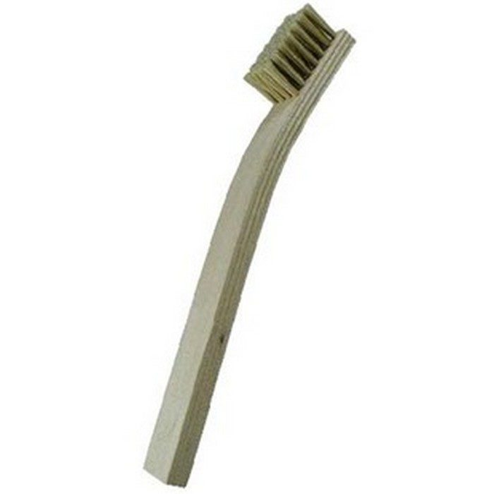 7 x 7 Row Hog Bristle and Plywood Handle Scratch Brush