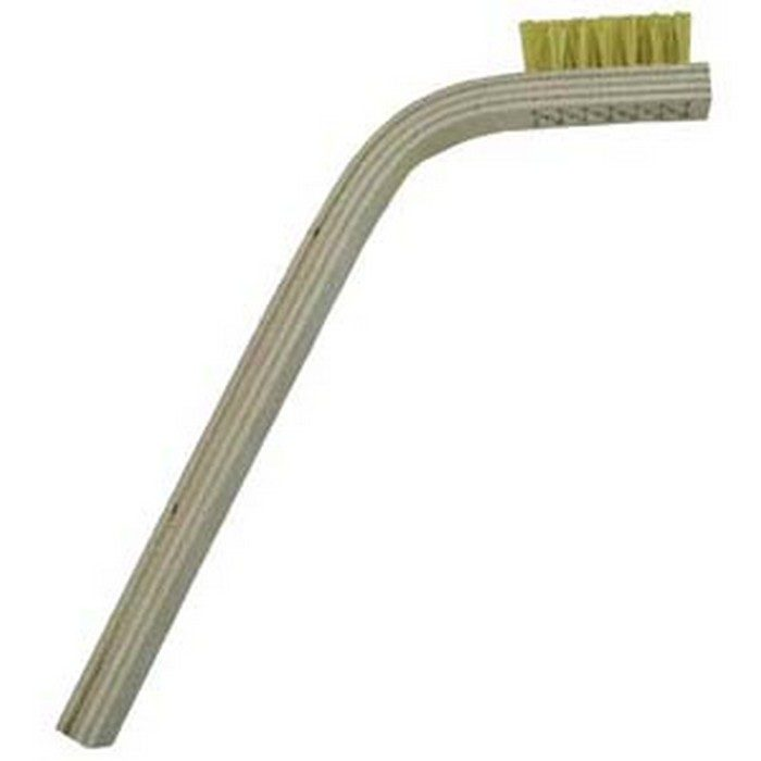 3 x 7 Row Hog Bristle and 60 degree Bent Handle Scratch Brush