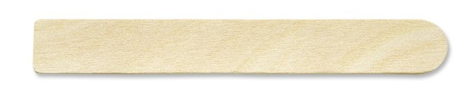 "5.5"" Thick Wood Flat Stir Stick w/Square End"