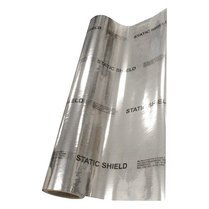 "48"" x 50' Series Metal-In Static Shielding Film"
